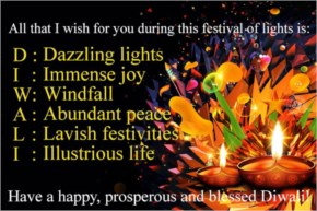 All that I wish for you during this festival of lights is