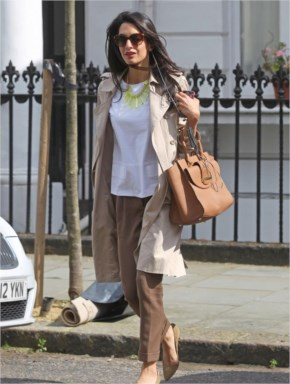 Amal Alamuddin & George Clooney Marrying in Fall?