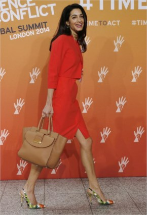 Amal Alamuddin Pregnant? New Baby Bump Photos Spark Rumors That George Clooney Will Be A Married Father Soon