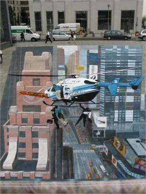 Amazing 3D Street Art Pictures
