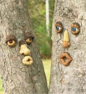 Amazing Cute Tree Couple All To Give Their Own Hands