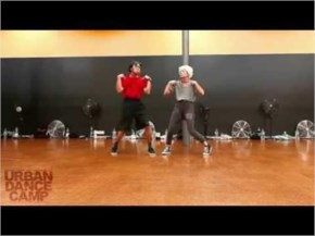 Amazing Elderly Old Couple Lovely dances to Bob Marley
