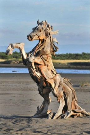Amazing Horse Wooden Art