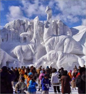 Amazing ice Sculptures