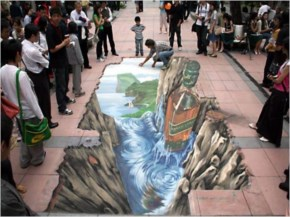Amazing Road Paintings In The World