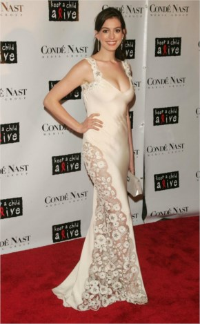 Anne Hathaway at The Black Ball