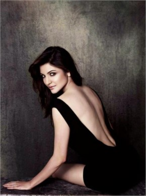 Anushka Sharma hot back photoshoot