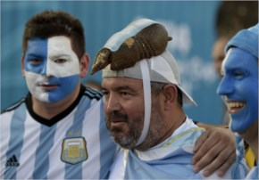 Argentina fans had a massive reason to celebrate FIFA World Cup 2014