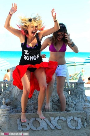 Ashley Benson and lucy hale are bongo beach babes