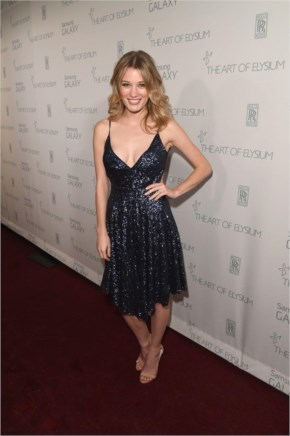 Ashley Hinshaw on Black Dress in The Art Of Elysium Marina Abramovic's heaven in LA