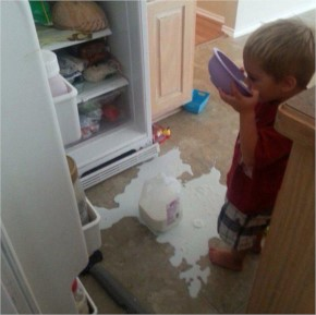 Top 20 plus funny photos those shows height of  kids disastrous