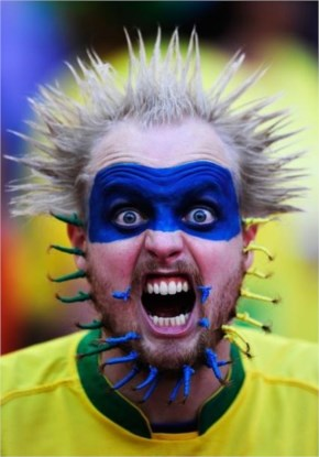 Australian fan Formula hilarious crazy funny sports fans