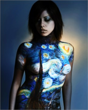 Awesome body painting