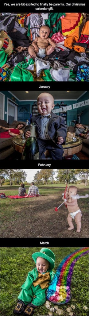 Awesome Funny Pictures About Baby Calendar.... Oh, And Cool Pics