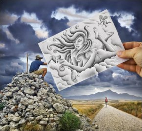 Awesome Pencil Vs Camera By Ben Heine