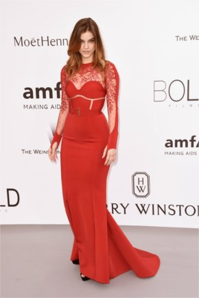 Barbara Palvin Style | attends amfAR Cinema Against AIDS Gala 2015 in Antibes at France