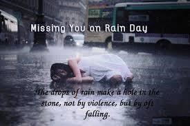 Barish image with-missing you on rain day
