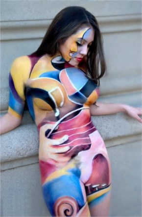 Beautiful body paintings