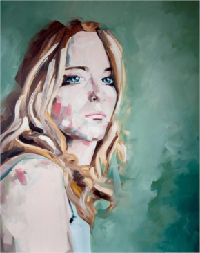 Beautiful Girl Painting