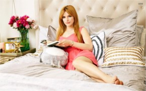 Bella Thorne in bed