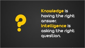 Best-Quotes-knowledge is having the right answer