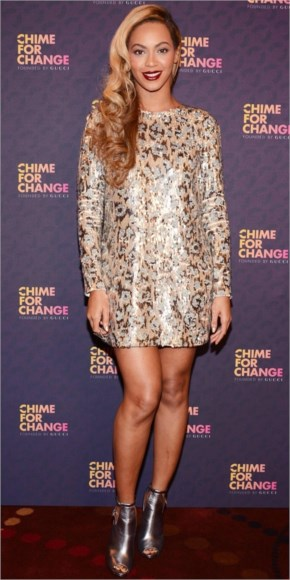 Beyonce Performs For Chime For Change Concert