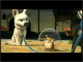 Bolt The Super Dog- The Best of Rhino the Hamster