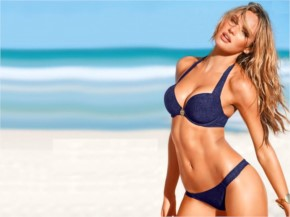 15+ Candice Swanepoel flaunts incredible bikini body Wallpapers