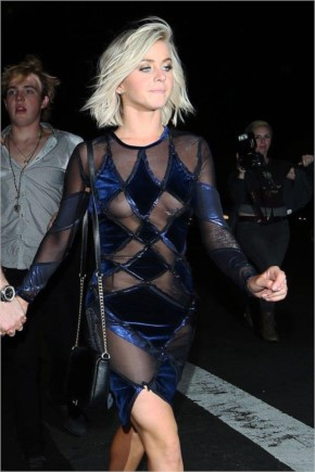 Celebrity Wardrobe Malfunction in Hollywood - Julianne Hough