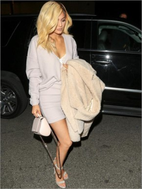 Celebrity Wardrobe Malfunction in Hollywood - Kylie Jenner