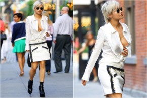 Celebrity Wardrobe Malfunction in Hollywood - Rita Ora