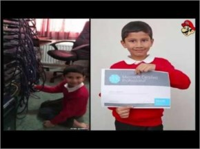 Check youngest  Five year old Ayan Qureshi passes Microsoft exam