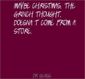 Christmas, Maybe, Store