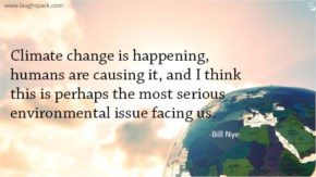 Climate change is happening - World Environment Day