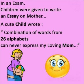 Combination of words from 26 alphabets can never express my Loving Mom | Mothers's Day