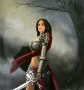 Concetta mazza fantasy art by farukhussain