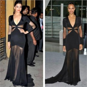 Copycat-2: The Ionic dress inspired Deepika and she store same dress for the upcoming event