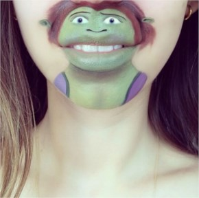 Creative Lip Art By Makeup Funny Artist