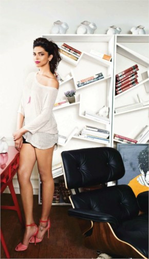 Deepika padukone Look dashing in shorts