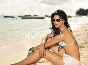 Deepika Padukone Maldives Beach Bikini photo