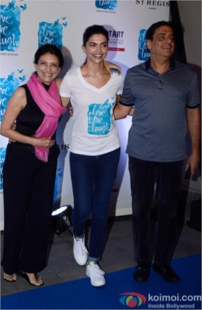 Deepika Padukone launched her NGO 'Live Love and Laugh'