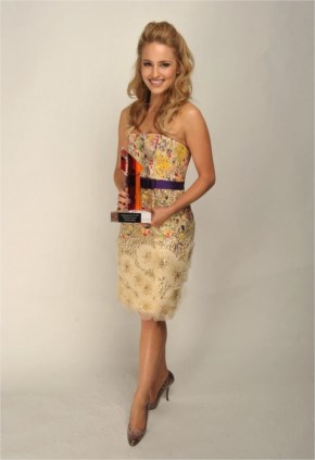 Dianna Agron Is Awarded The 'Breakthough Of The Year