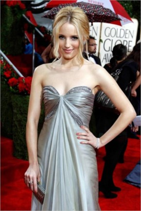 Dianna Agron Red Carpet Formal