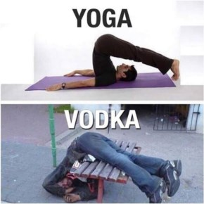 Difference between Yoga and Vodka