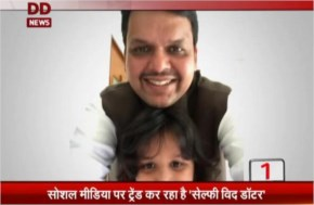 The Posting of Celebrities #selfieswithdaughter for Support PM Narendra Modi