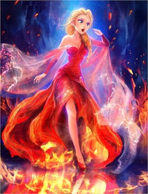 Elsa: The Queen On Fire