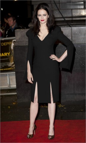 Eva Green at The Rum Diary Premiere in London
