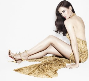 Eva Green back less beauty