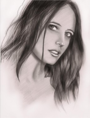 Eva Green by harrynotlarry