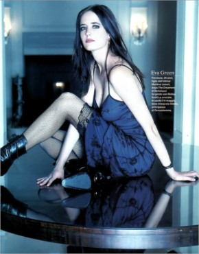 Eva Green magic blue moments